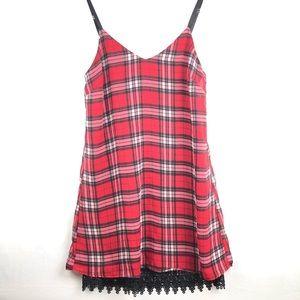 Pssst | Plaid Red Schoolgirl Dress Clueless